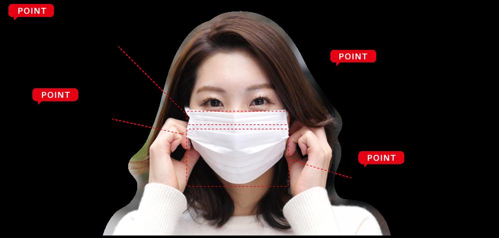 マスクのポイント